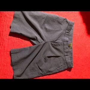Banana Republic Pinstriped Bermuda Shorts